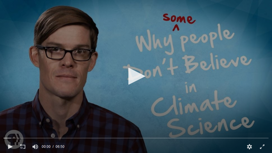 "Response to ""Why Some People Don't Believe in Climate Science"""